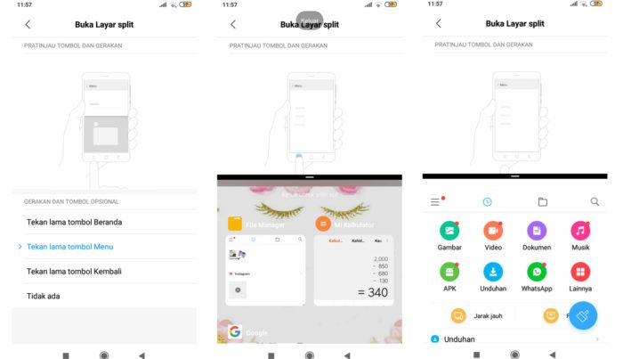 Xiaomi Splitscreen